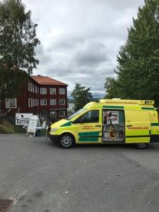 Djurambulansen Stockholm på event 20160904